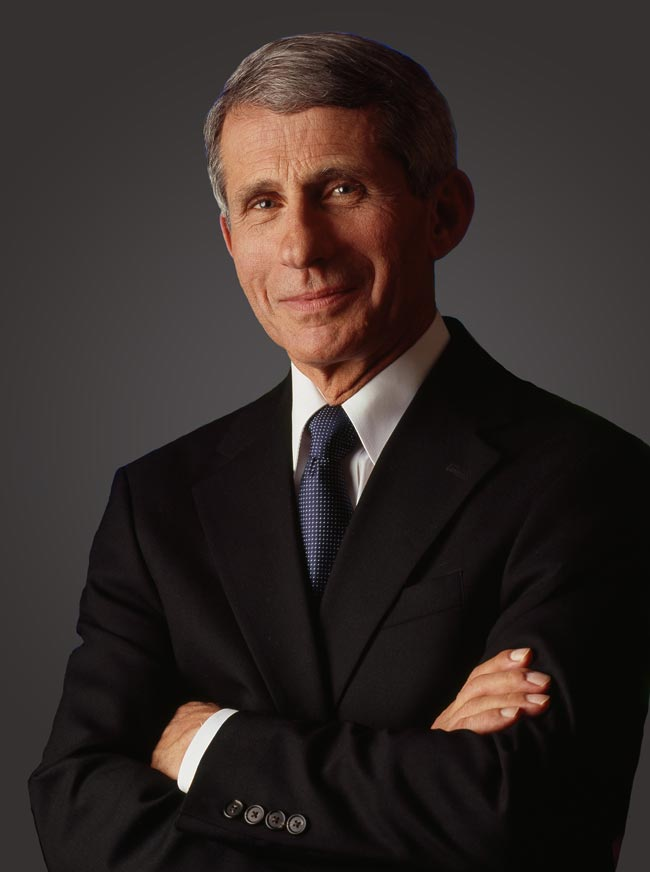 portrait of Ivan Allen Jr. prize winner Anthony Fauci